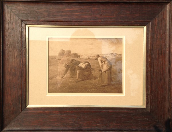 2741 - Women Working A Field by Unknown