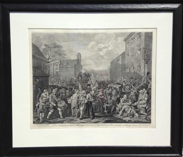 2750 - March to Finchley,  Scotland by William Hogarth (1697 – 1764)
