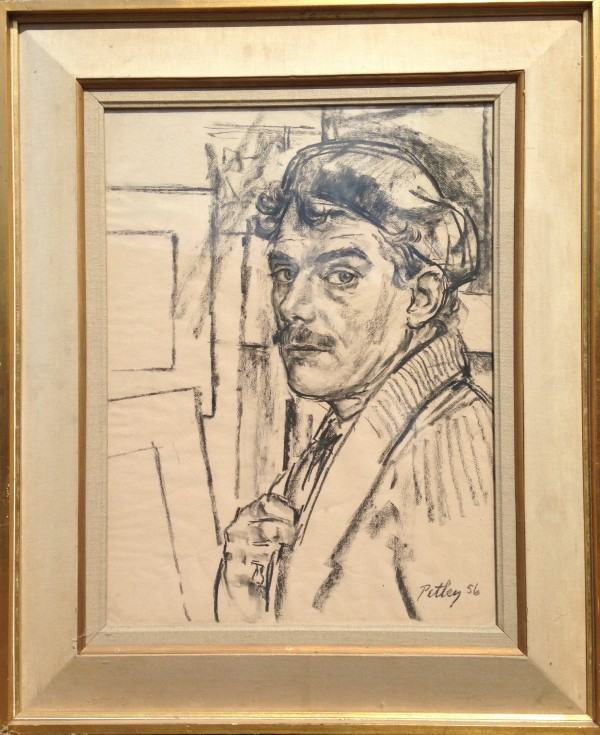 2218 - Self Portrait by Llewellyn Petley-Jones (1908-1986)
