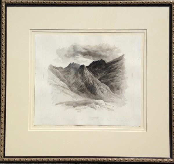 2048 - Valley of ____ Skye by John MacWhirter RA, HRSA, RT (1839-1911)