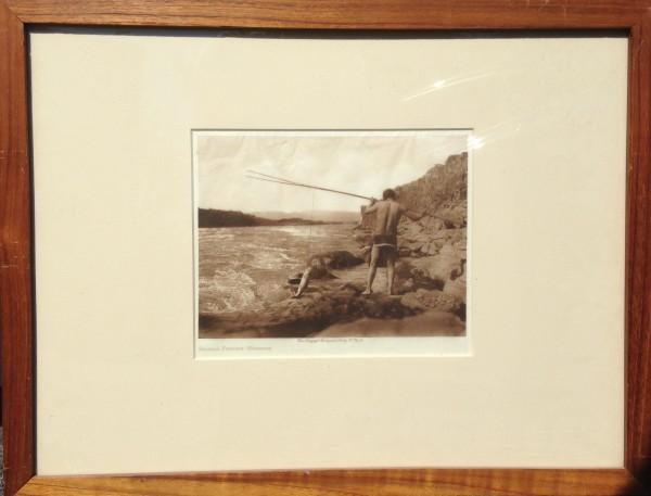 2670 - Salmon Fishing - Wishham by Edward Sheriff Curtis (1886 - 1952)