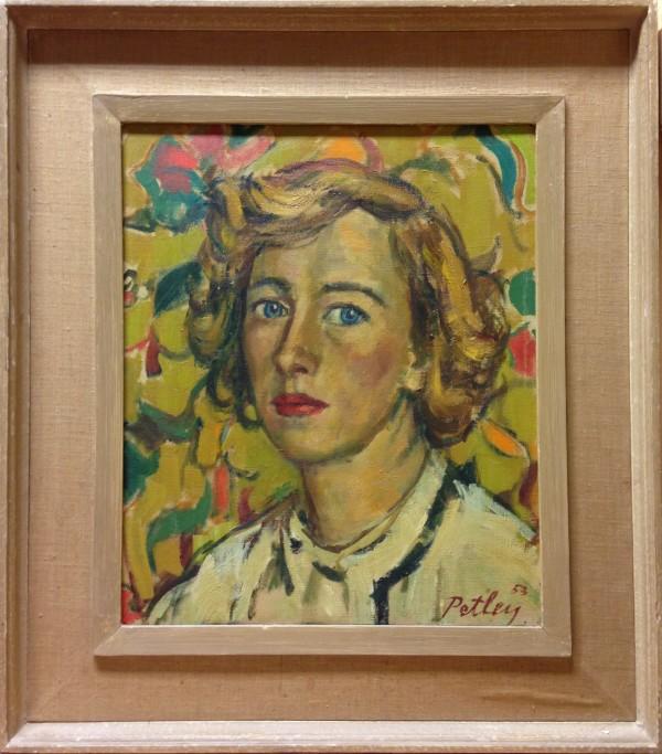 1071 - Portrait of a Woman by Llewellyn Petley-Jones (1908-1986)