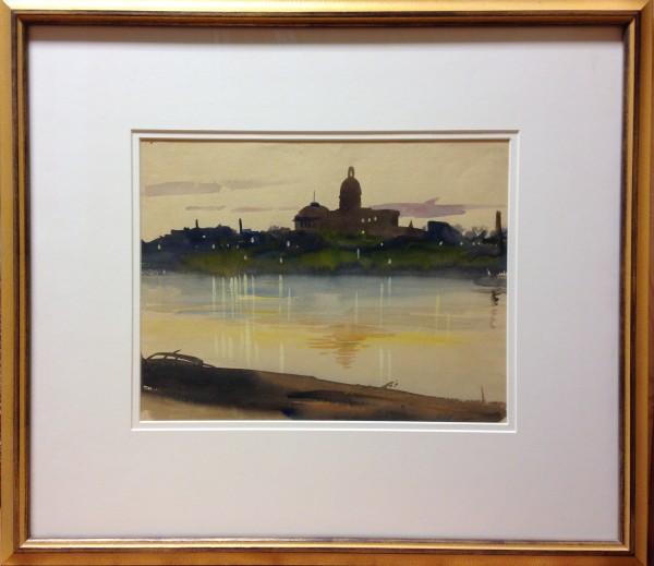 1072 - Parliament Buildings, Edmonton by Llewellyn Petley-Jones (1908-1986)