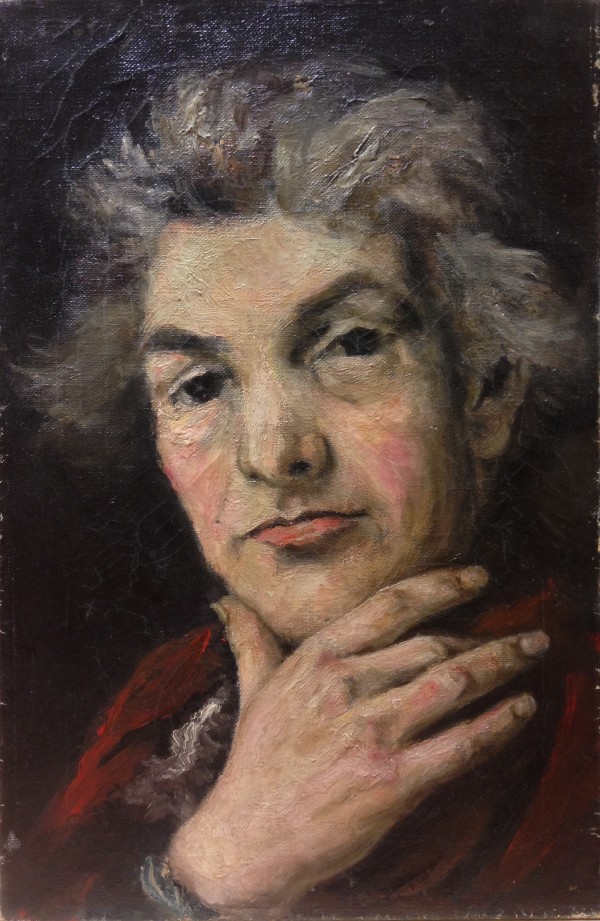 0220 - Grey-haired Portrait by Llewellyn Petley-Jones (1908-1986)