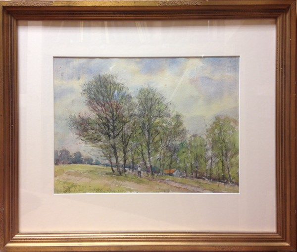 2405 - Stand of Trees in First Green by Llewellyn Petley-Jones (1908-1986)