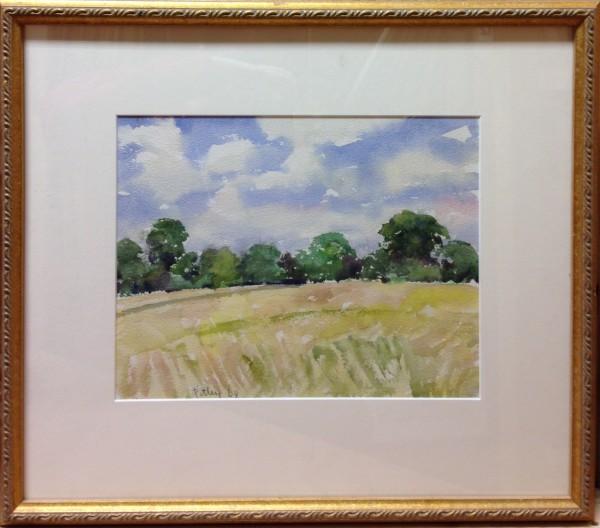 2334 - Landscape 1968 by Llewellyn Petley-Jones (1908-1986)