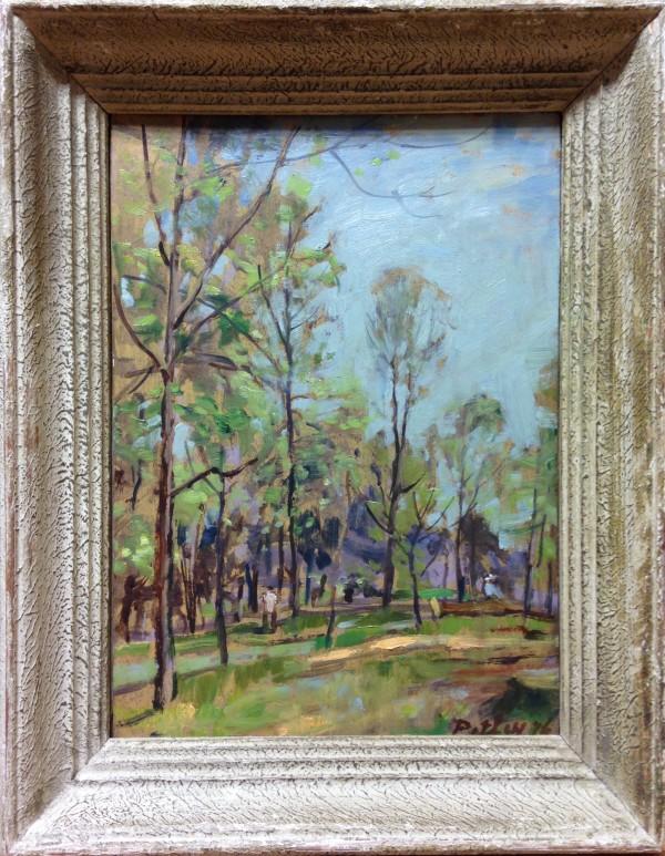 1097 - Richmond Summer, May 1976 by Llewellyn Petley-Jones (1908-1986)