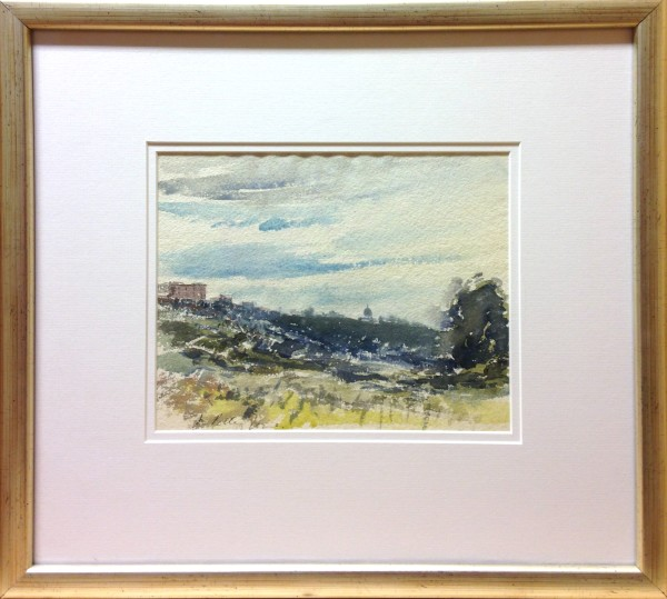 3086 - Untitled Rural Landscape by Llewellyn Petley-Jones (1908-1986)