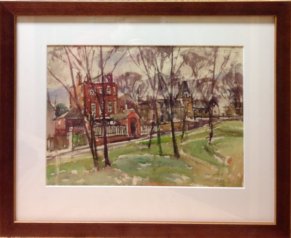 3090 - Hampstead by Llewellyn Petley-Jones (1908-1986)