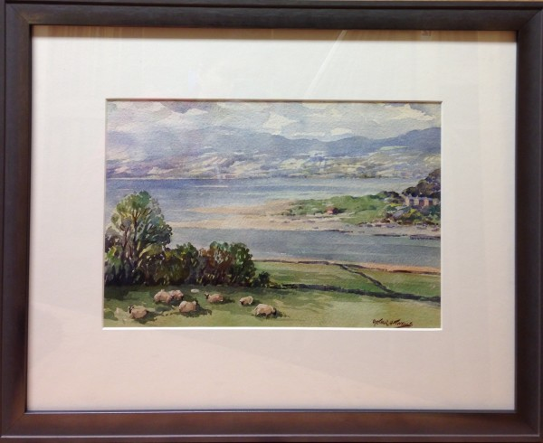 3096 - Overlooking Fahan From Inch Island, 1957 by Arthur H. Twells