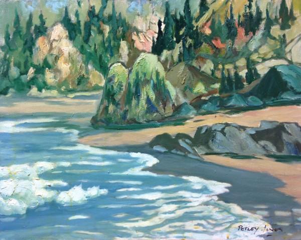 1106 - Untitled Seascape by Llewellyn Petley-Jones (1908-1986)