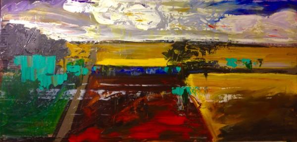 1117 - Untitled Landscape by Matt Petley-Jones