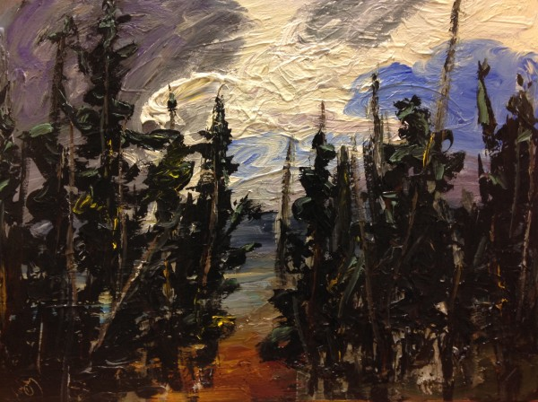 1193 - Untitled (Landscape) by Matt Petley-Jones