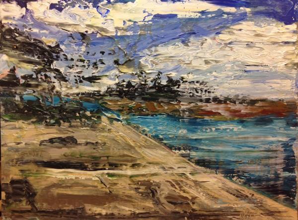 1191 - Untitled (Landscape) by Matt Petley-Jones