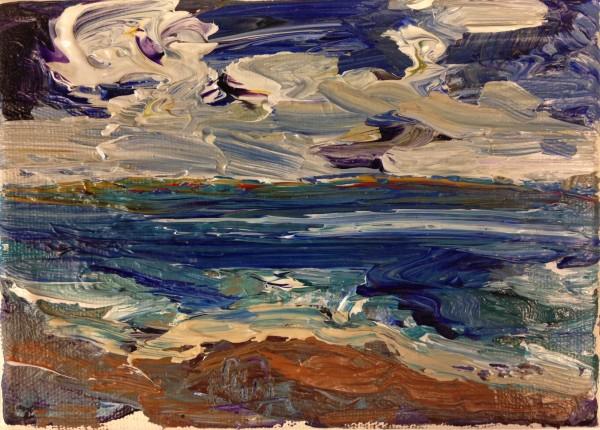 1207 - Untitled (Landscape) by Matt Petley-Jones