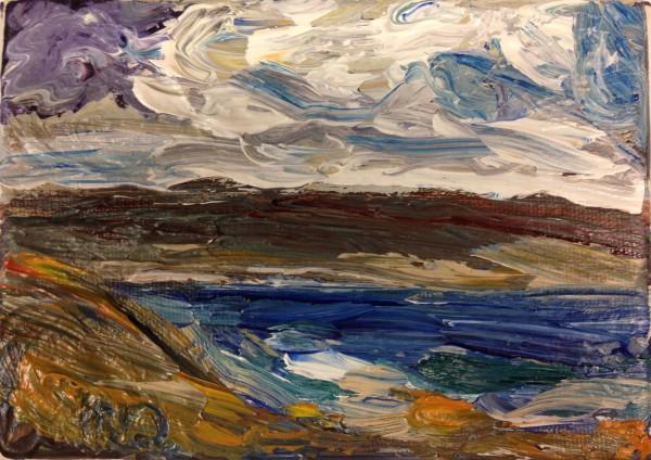 1210 - Untitled (Landscape) by Matt Petley-Jones