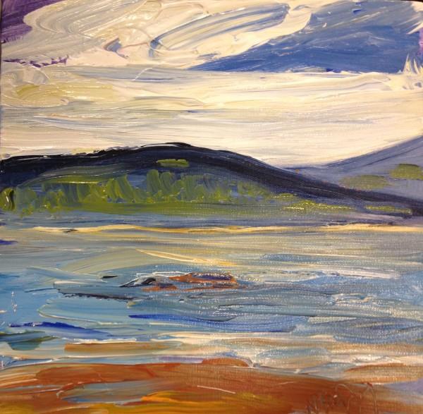 1222 - Untitled (Landscape) by Matt Petley-Jones