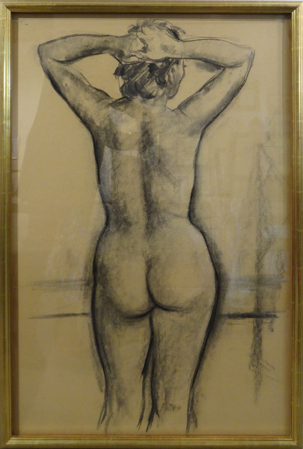 2215 - Instructor's Sketch - VSA c. 1952  (back) by Llewellyn Petley-Jones (1908-1986)