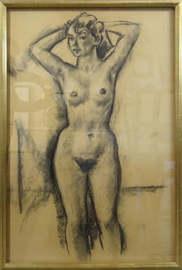 2216 - Instructor's Sketch - VSA c. 1952 (front) by Llewellyn Petley-Jones (1908-1986)
