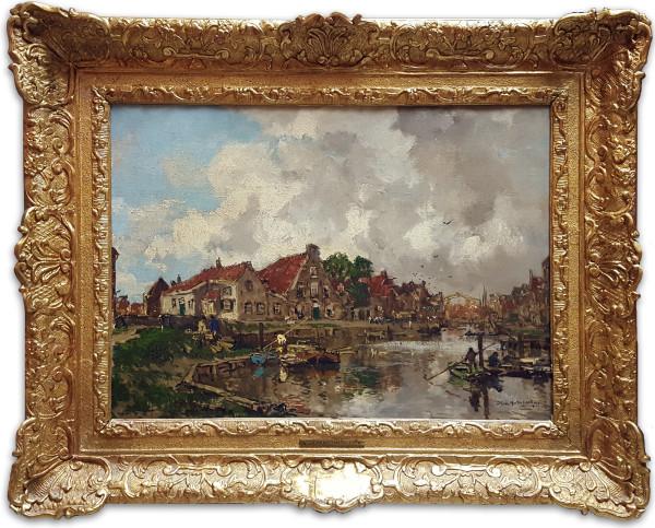 0269 - Delfthaven, 1919 by Jan Hendrik van Mastenbroek(1875-1945)