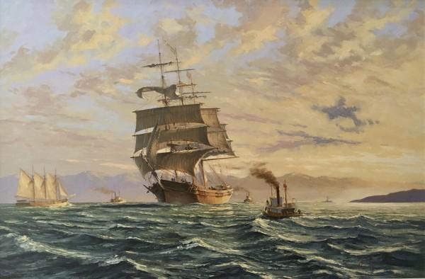 JH 1156 - Arrival of Victoria by John Horton (FCA, CSMA)