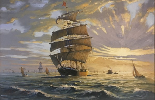 0344 - Bound for Sea by John Horton (FCA, CSMA)