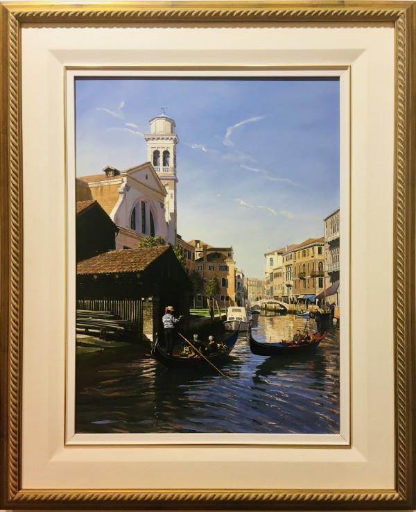 JH 1190 - Changing Perspectives (Gondola Yard, Venice) by John Horton (FCA, CSMA)