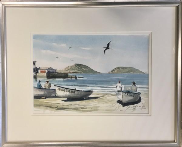2671 - Fisherman's Landing ( Mazatlan, Mexico) by John Horton (FCA, CSMA)