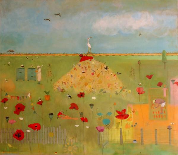 0794 - Kitsilano Community Garden 2 by Marie H Becker