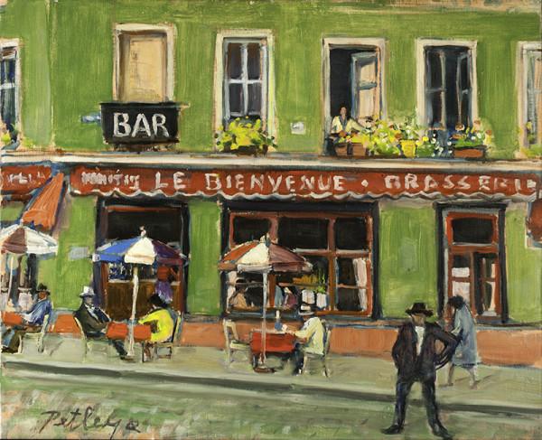 0510 - Le Bienvenue Brasserie by Llewellyn Petley-Jones (1908-1986)