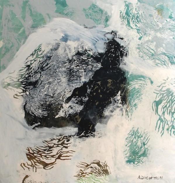 0489 - Sensitive Water Mapping ( Sans Titre) by Amelie Ducommun