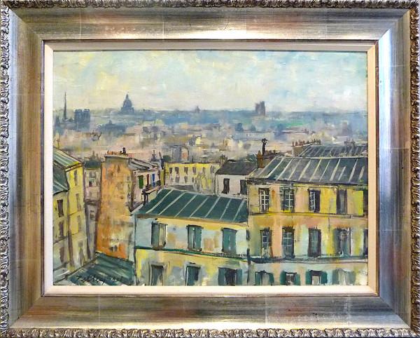 0262 - View from Butte Montmartre by Llewellyn Petley-Jones (1908-1986)
