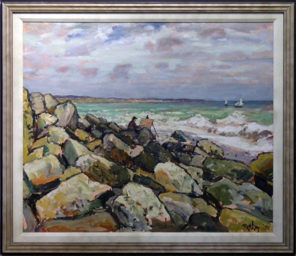 0657 - Lonely Coast by Llewellyn Petley-Jones (1908-1986)