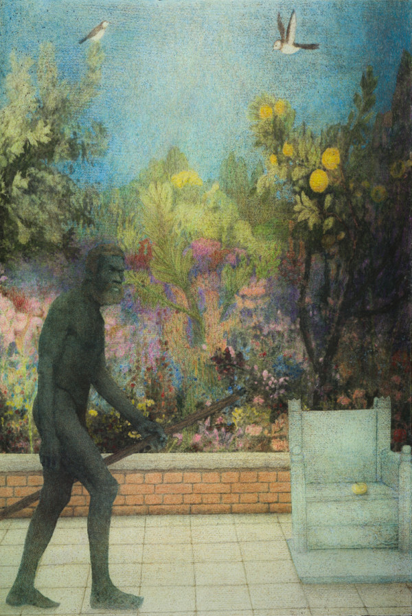 The Man Triptych II by Duncan Regehr