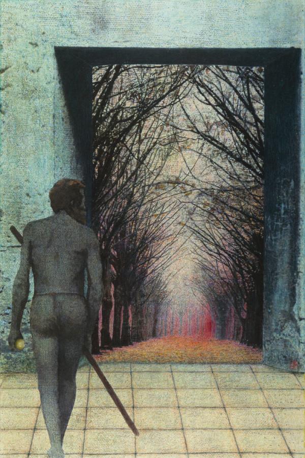 The Man Triptych III by Duncan Regehr
