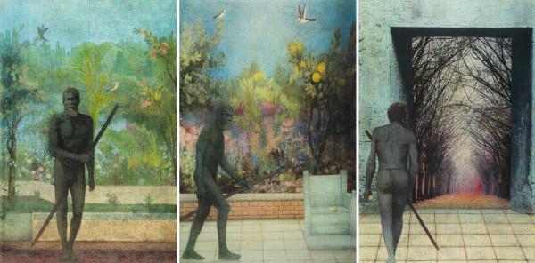 The Man Triptych by Duncan Regehr