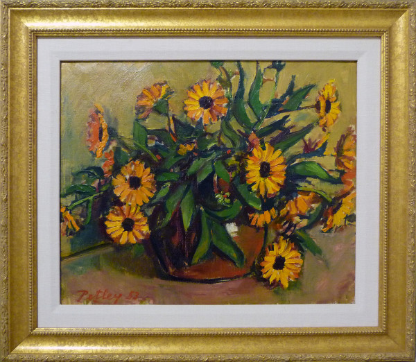 0227 - Marigolds by Llewellyn Petley-Jones (1908-1986)