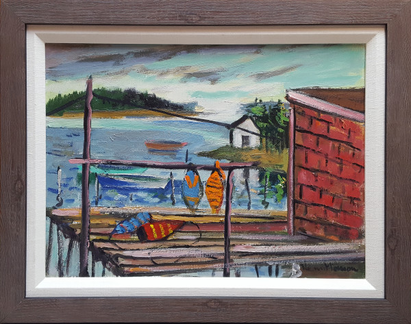0811 - Nova Scotia Mood by Henri Leopold Masson (1907-1966)