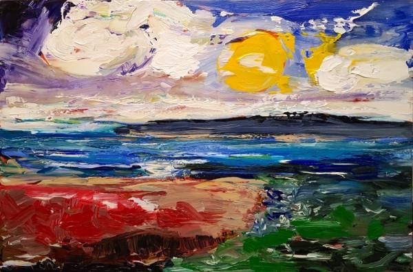 0388 - Sun Drenched Bay by Matt Petley-Jones
