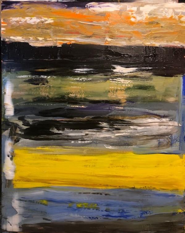 0600 - Yellow Sash by Matt Petley-Jones