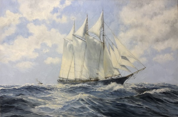 0664 - Full Sail by Robert McVittie (1935 - 2002)