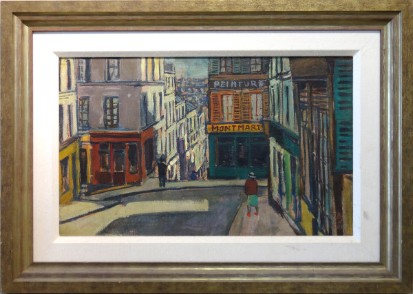 0230 - Montmart by Llewellyn Petley-Jones (1908-1986)