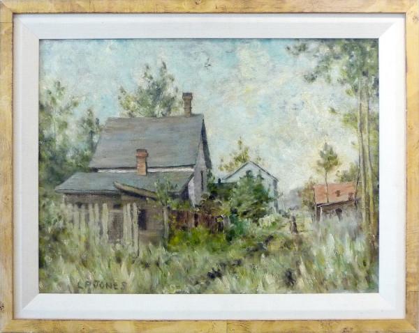0284 - Morning, Rossdale, Edmonton by Llewellyn Petley-Jones (1908-1986)