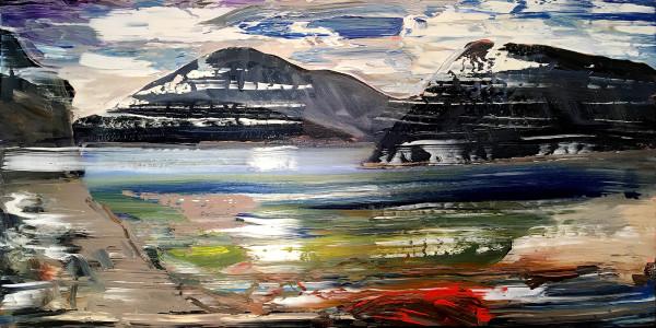 0470 - Mountainous Island by Matt Petley-Jones