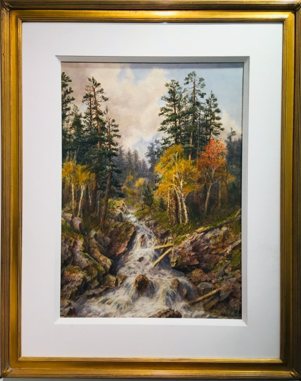 2299 - Untitled ( Forest Creek) by Thomas Mower Martin O.S.A., R.C.A (1838-1934)