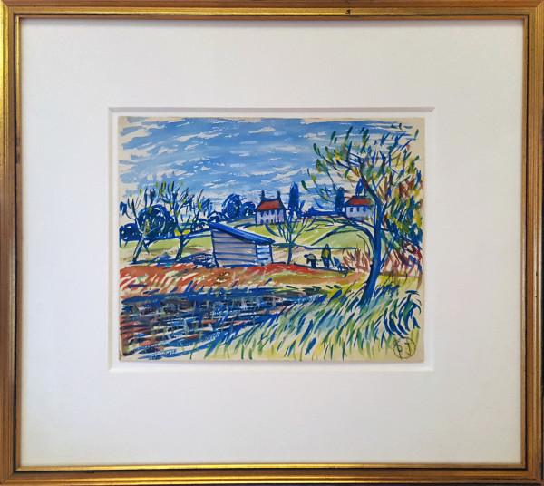 2339 - November in Cotswold by Llewellyn Petley-Jones (1908-1986)
