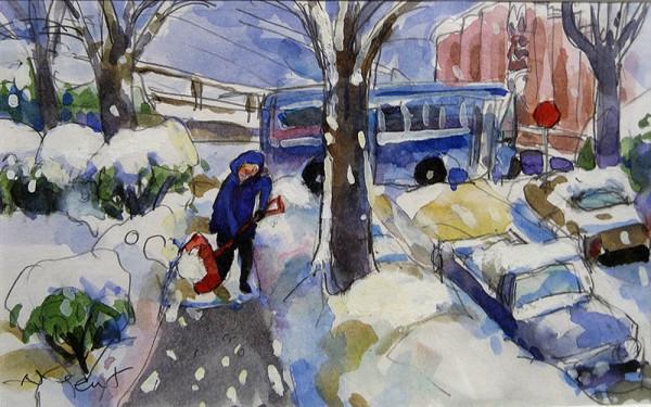 2517 - Snowy Marpole by Cynthia Nugent