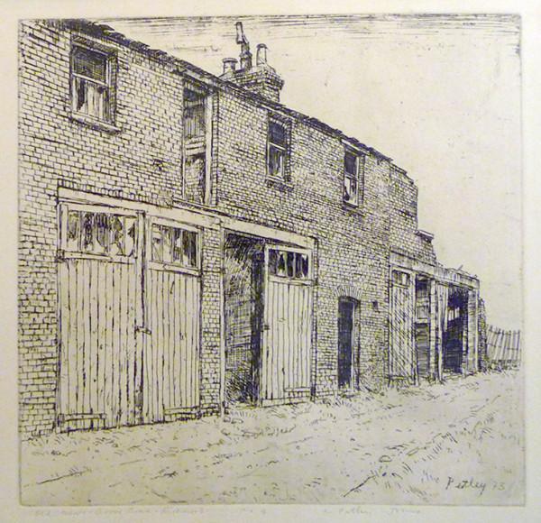 2587 - Old Mews Grove Road Richmond by Llewellyn Petley-Jones (1908-1986)