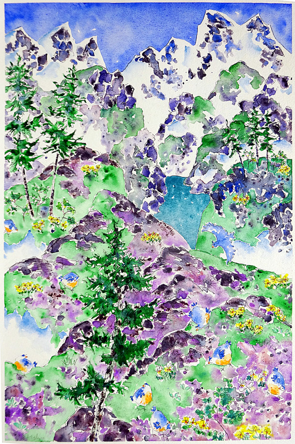 3044 - On the Ridge Trail by Ann Nelson