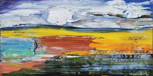 0476 - Orange Seep by Matt Petley-Jones